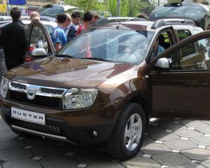 Dacia Duster, preferata de cei care inchiriaza masini