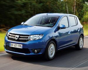 Dacia Sandero si-ar majora consumul si emisiile de CO2 daca ar fi alimentata cu 10% etanol