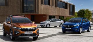 Dacia a prezentat noile modele Logan, Sandero, si Sandero Stepway, cu noua semnatura in forma de Y a marcii