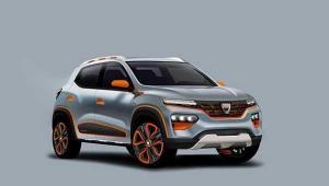 Dacia prezinta prima sa masina electrica: showcarul Dacia Spring. Modelul de serie va fi disponibil in 2021