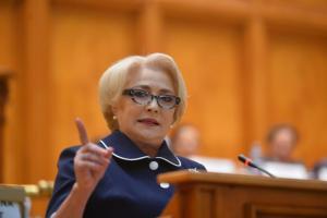 Viorica Dancila vorbeste despre interventiile Guvernului in Justitie