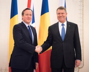 Vizita dupa 16 ani a unui premier britanic in Romania