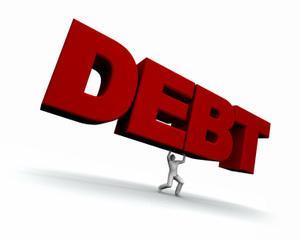 Restantele firmelor si populatiei catre banci s-au umflat la 32,587 miliarde de lei