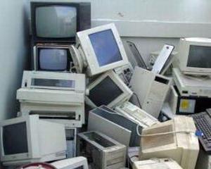 """""""Eroii reciclarii"""" au colectat peste o tona de echipamente electronice"""