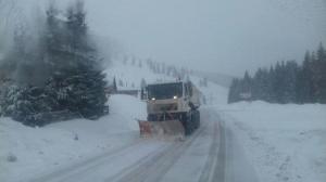Prima zapada nu a inchis sectoare de drumuri nationale sau autostrazi