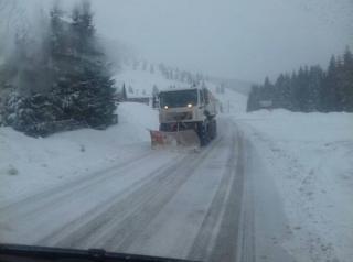 CNAIR a intervenit cu 1.131 de utilaje, Primaria Bucuresti cu 662 pentru a debloca drumurile