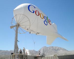 Proiect Google: internet wireless, in Africa si Asia, cu dirijabile si baloane de mare altitudine