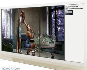 Monitorul UHD de 98 de inci, vedeta Samsung la IFA 2013