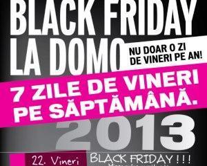 Black Friday: Vanzarile magazinelor Domo au atins 4 milioane de euro pana la ora 12.00