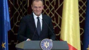 Pentru cateva minute, Romania a avut un premier european: Donald Tusk