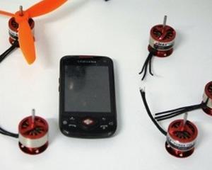 Un kit simplu transforma smartphone-urile cu Android in drone