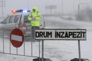 Ultima ora: Lista drumurilor inchise din Romania