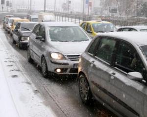 Drumuri nationale inchise in Braila, Buzau si Vrancea