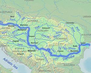 Dupa ce a produs pagube de miliarde de euro in Europa, Dunarea ameninta si Romania