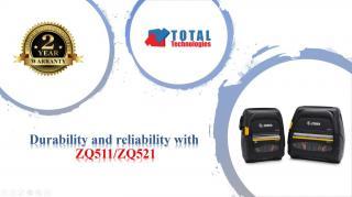 Imprimante mobile Zebra de la Total Technologies. Durabilitate si fiabilitate exceptionale pentru cele mai dure medii!