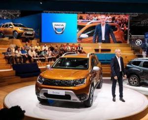Noul Duster a fost prezentat oficial la Salonul Auto de la Frankfurt