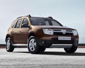 Dacia Duster este cel mai putin costisitor de exploatat