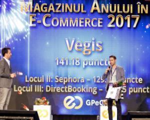 DWF este agentia SEO pentru Magazinul Anului 2017 in E Commerce  Vegis ro