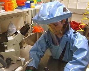 Ebola e boala, nu viral pe net