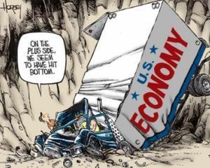 Economia americana, slaba in al doilea trimestru