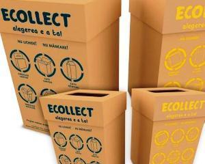 A fost lansat primul serviciu de colectare separata a deseurilor de la birou din Romania