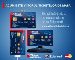 Edenred lanseaza tichetele de masa electronice Ticket Restaurant