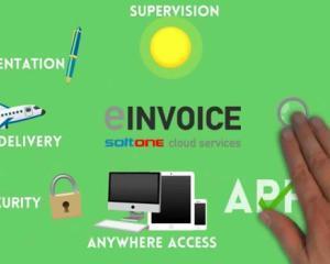 SoftOne Romania lanseaza serviciul cloud eINVOICE
