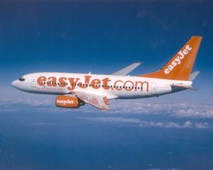 EasyJet va zbura de la Bucuresti la Londra