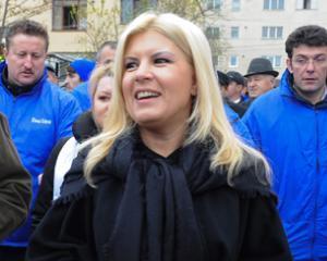 Elena Udrea: Daca partidele de dreapta nu fac alianta cu Basescu, iese Ponta presedinte