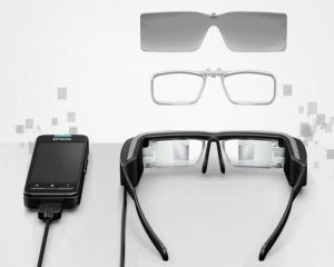 Ochelarii inteligenti Epson Moverio BT-200 reconstituie capitala antica a Japoniei