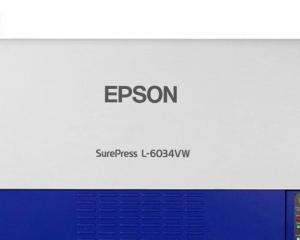 Epson lanseaza presa digitala pentru etichete SurePress L-6034VW