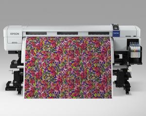 Epson lanseaza imprimanta SureColor SC-F7100 cu transfer prin sublimare, pentru textile roll-to-roll