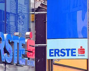 La BVB, pretul actiunilor Erste Bank a crescut cu aproape 6%