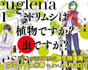 Frumoasa si... euglena, povestea de dragoste care i-a cucerit pe japonezi