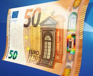 BCE a prezentat noua bancnota de 50 de euro