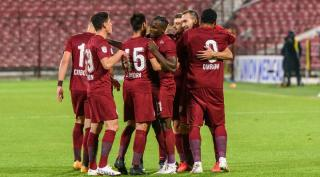 Europa League: CFR Cluj pierde fara drept de apel, scor 0 - 5, la Roma