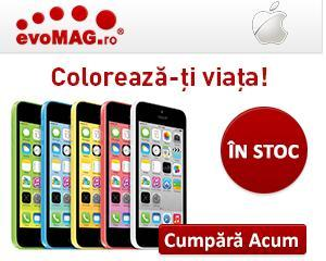 iPhone 5C, adus in premiera in Romania