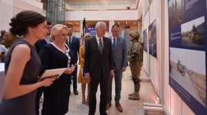 Expozitie dedicata parteneriatului SUA-Romania, la 15 ani de la intrarea tarii noastre in NATO