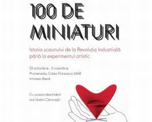 """""""100 de miniaturi"""", expozitia scaunelor care au trasat istoria"""