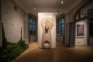 Celebrul sculptor Alex Chinneck prezinta pentru prima data in Romania expozitia