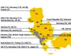 Studiu: Intreaga regiune Europa Centrala si de Sud - Est a cunoscut o crestere a volumului de tranzactii in anul 2013