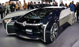 "FOTO: Renault prezinta in premiera, la Paris, EZ-ULTIMO, primul ""vehicul-robot"""