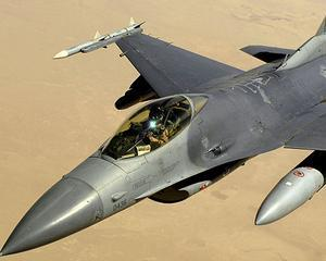 Victor Ponta, zbor de zeci de minute cu un F 16