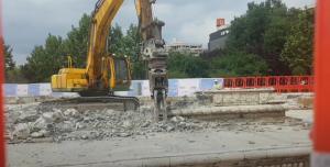 Primaria Bucuresti risipeste 7 mil. Euro pentru demolarea fantanilor arteziene de la Unirii