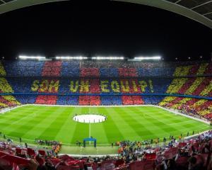 """Panasonic se """"uneste"""" cu FC Barcelona, timp de trei ani"""