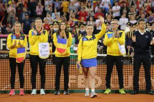 Franta - Romania 3-2 Fed Cup. Tricolorele au ratat o finala istorica. Halep a refuzat conferinta de presa