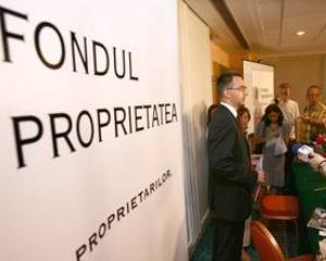 Fondul Proprietatea a mai recuperat 14,455 milioane de actiuni