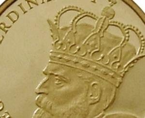 BNR dedica o emisiune numismatica buzduganului regelui Ferdinand I