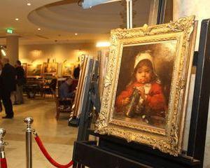 """""""Fetita in rosu"""" a lui Grigorescu s-a vandut cu 60.000 de euro"""