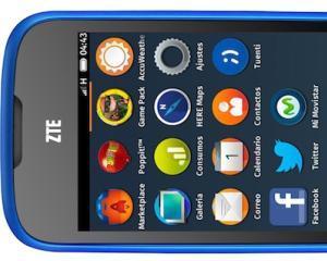 Primul telefon cu sistem de operare Firefox apare, maine, in piata